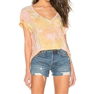 NWT Free People We the Free All Mine Tie Dye Vneck